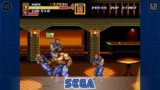 Screenshot Streets of Rage 2 Classic