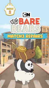 Screenshot We Bare Bears Match3 Repairs