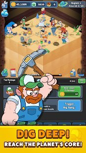 Screenshot Tap Tap Dig 2: Idle Mine Sim