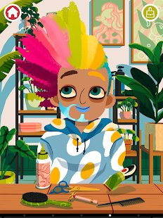 Screenshot Toca Hair Salon 4