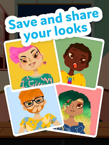 Download Toca Hair Salon 4 Mod Unlockeed Money 1 7 0 Play Apk Data For Android