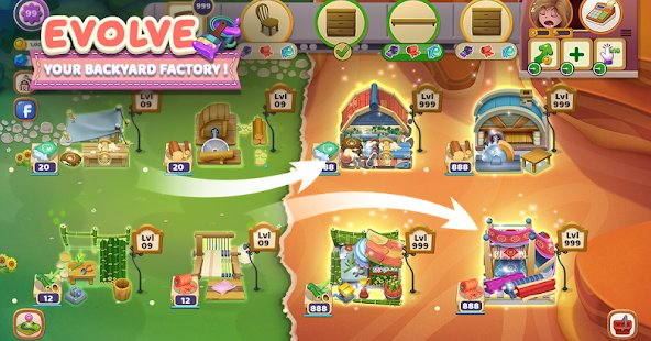 Screenshot Craftory - Idle Factory & Home Design