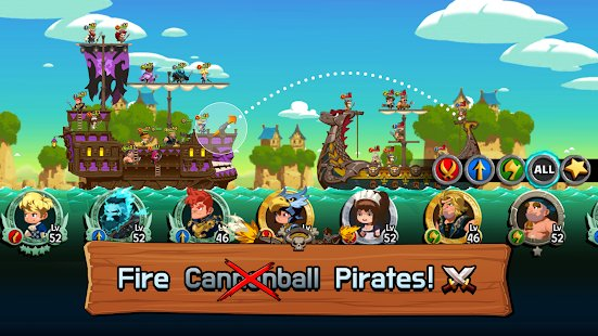 Screenshot TonTon Pirate : Age of plunder