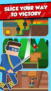 Screenshot Mr Ninja - Slicey Puzzles