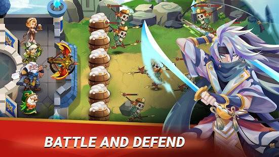 Screenshot Castle Defender: Hero Idle Defense TD