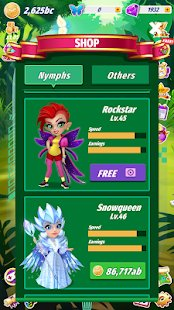 Screenshot Merge Fairies - Best Idle Clicker