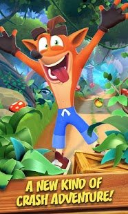 Screenshot Crash Bandicoot Mobile