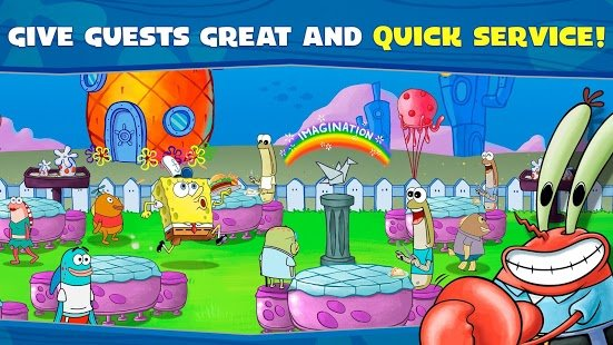Screenshot SpongeBob: Krusty Cook-Off