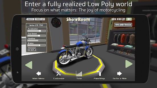 Screenshot Cafe Racer