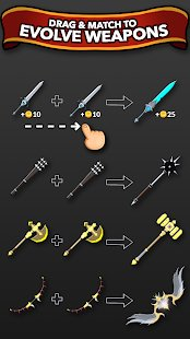 Screenshot Blacksmith - Merge Idle RPG