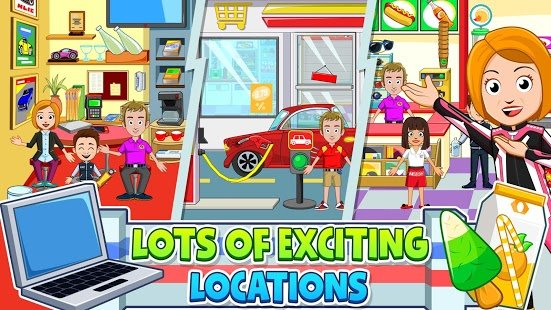 Screenshot My Town: Car Garage