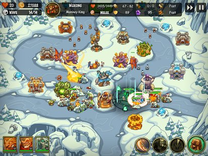 Screenshot Empire Warriors: Tower Defense TD