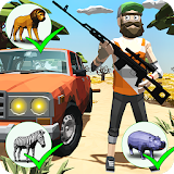 Icon Hunting: Safari - Polygon Game