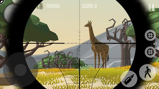 Screenshot Hunting: Safari - Polygon Game