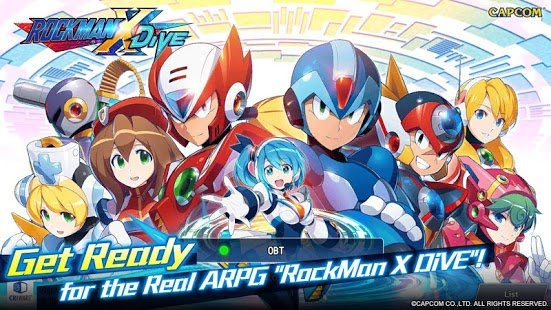 Screenshot ROCKMAN X DiVE
