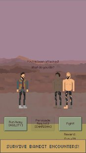 Screenshot The Wanderer : A Post-Apocalyptic Survival