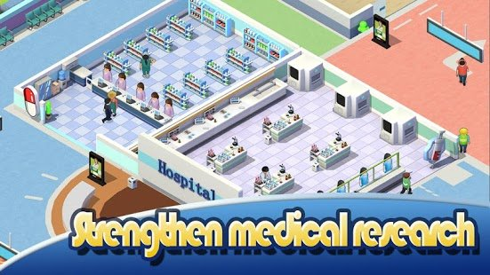 Screenshot Idle Hospital Tycoon