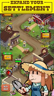 Screenshot Idle Frontier: Tap Town Tycoon