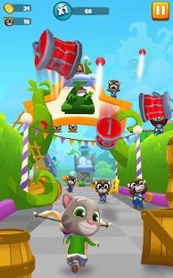 Screenshot Talking Tom Blast Park