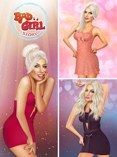 Screenshot Bad Girl - Romantic Story Love Game
