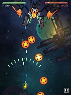 Screenshot Gemini Strike Space Shooter