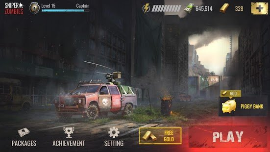 Screenshot Sniper Zombies: Offline Shooting Games 3D