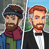 Icon Hobo Life: Business Simulator & Money Clicker Game