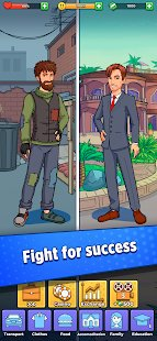 Screenshot Hobo Life: Business Simulator & Money Clicker Game
