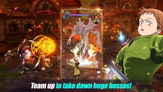Screenshot The Seven Deadly Sins: Grand Cross