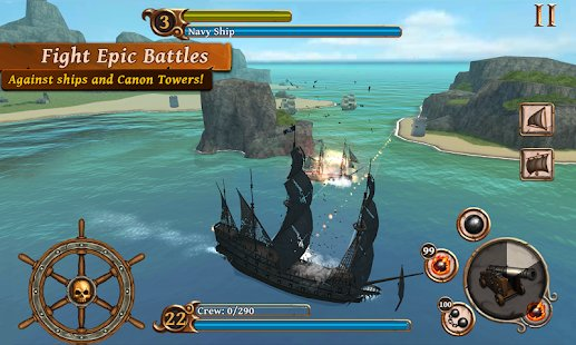 Screenshot Ships of Battle: Age of Pirates