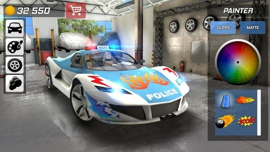 Screenshot Police Car Chase - Cop Simulator