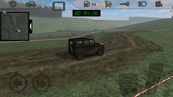 Screenshot Russian SUV