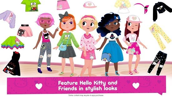 Screenshot Hello Kitty Fashion Star