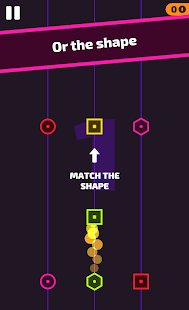 Screenshot ColorShape - Endless reflex game