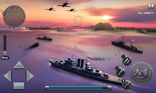 Screenshot Ships of Battle: The Pacific (MOD Money)
