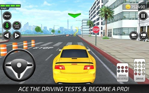 Screenshot Driving Academy - Car School Driver Simulator 2019