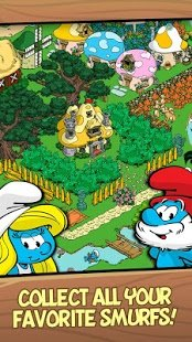 Screenshot Smurfs Village