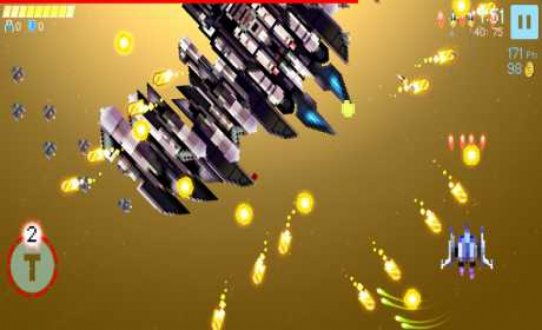 Screenshot Gold Flower - Bullet Hell Shooter