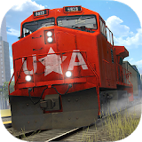 Icon Train Simulator PRO 2018