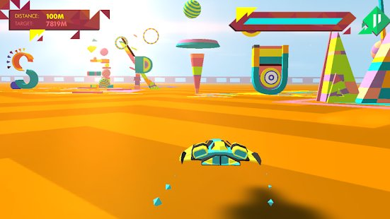 Screenshot Geometry Race