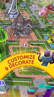 Screenshot RollerCoaster Tycoon Touch