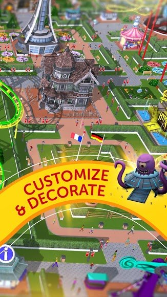 Download RollerCoaster Tycoon Touch [MOD Money] 3 4 4 APK