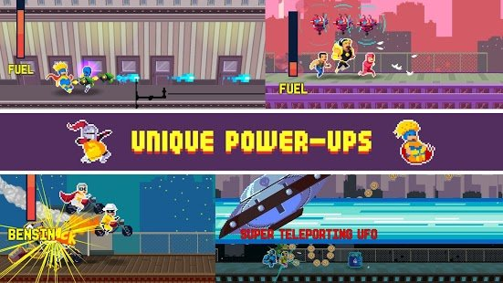 Screenshot Pixel Super Heroes