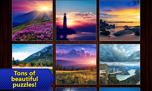 Screenshot Jigsaw Puzzles Epic