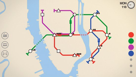 Screenshot Mini Metro