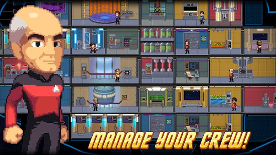 Screenshot Star Trek Trexels