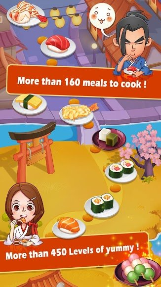 Download Sushi Master - Cooking story [MOD Money/Energy] 3 7