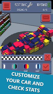Screenshot Formula Clicker - Idle Racing Manager Tycoon