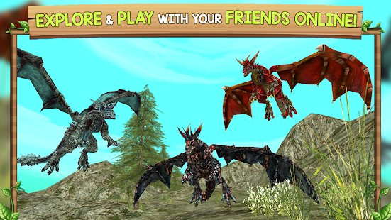 Screenshot Dragon Sim Online: Be A Dragon