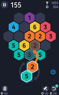 Screenshot Make7! Hexa Puzzle